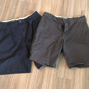 2 pairs men's size 34 shorts
